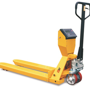 Pallet Truck with Scales | Castors & Industrial