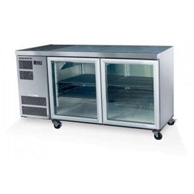 2 Glass or Solid Swing Door Fridges - CC300-2SW