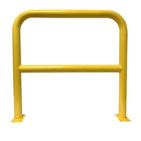 Safety Barriers | 1000mm High x 1200mm Wide - 76mm Tube Yellow