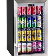 Schmick Tropical Triple Glazed Outdoor Glass Bar Fridge 70 Litre