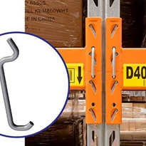 ColbyRACK Components: Connectors & Clips for Pallet Racking