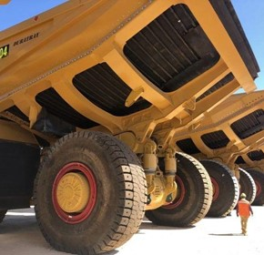 New ultraclass Duratray SDB models designed and commissioned for CAT 796AC trucks