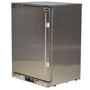 Rhino Stainless Steel 1 Door Solid Stainless Bar Fridge|SG1L-SD
