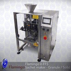 Flamingo Vertical Form Fill Sachet Maker - Granule/Solid | EFFFS-G4200