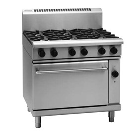 Gas Range Electric Convection Oven | 900mm RN8610GEC