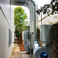 Ezi-Duct helps Sydney manufacturer let off some steam