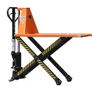 1T High Lift Pallet Truck  lifting up to 800mm Fork width 520mm