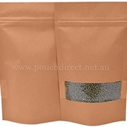Pouch Direct | Brown Kraft Stand Up Pouch