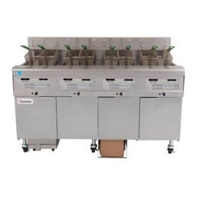 4 x 15L Electric Deep Fryer with Filtration | Filterquick FMJ450