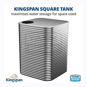 500 Litre Square Aquaplate Steel Water Tank