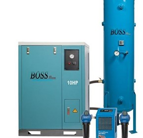 BOSS - 48CFM Silent Compressor Clean Air Package - BQT50P-300LK