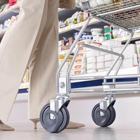 Travelator / Walkway Shopping Cart Castors