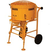 SoRoTo 100 Litre Pan Mixer Machine | Cement & Mortar Mixers