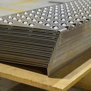 Galvanised Anti Slip Stair Tread Nosing | Lion Plate
