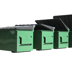 Steel Front Lift Bins