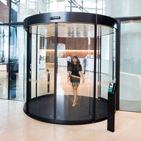Entrance Systems | BST Curved Sliding Doors
