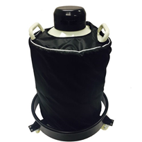 Liquid Nitrogen Container with Rolling Base | Dewer 20 Litre