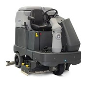 Ride On Scrubber With Cylindrical Brush Scrubbing Deck | SC6500 1300C