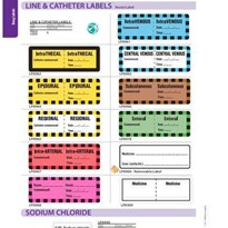 Drug Labels | Line & Catheter Labels