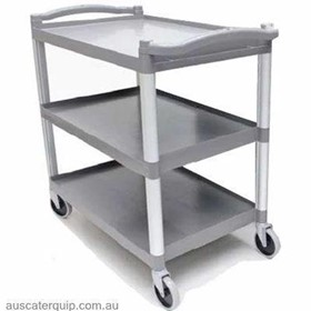 Unica 3-Tier Large Trolley (Grey)