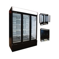 Low Energy Pass-Through /Rear-Load Commercial Display Fridge