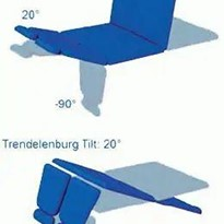 Bariatric Leg Ulcer Treatment Chair | Plinth 2000 L50