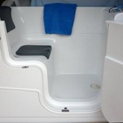 Using a walk-in bath in a Sydney Group Home