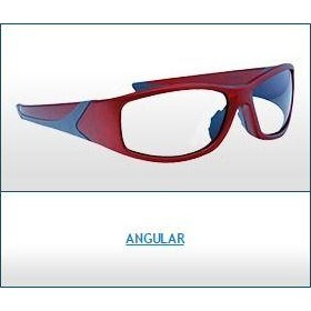 Radiation Protection Eyewear | Angular Wrap Around Glasses