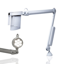 LED Ceiling or Wall Mounted Exam Light | Luxo LHH | LUXOLHHLED