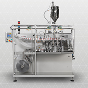 Small Compact Sachet Filling Machine | Mespack H100