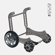 Rotatruck Conversion Kit AT LITE | Hand Trolley | Omniwheels