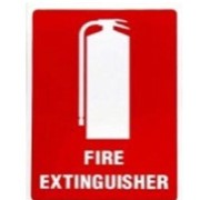 Fire Extinguisher Location Sign – Small