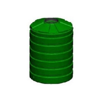 1,200 Chemical and Water Storage Tank