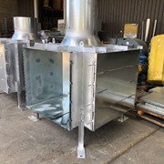 Custom-made Heavy Duty Plenum Boxes for Mining extraction