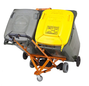 Electric Bin Trolley | WheelieSafe