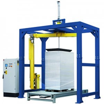 Automatic Rotary Arm Stretch Wrapping Machine | Fromm FA7 Series