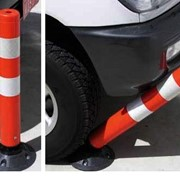 2-Piece Knockdown Safety Bollards