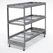 3 Tier American Style Coffin Rack (Static)