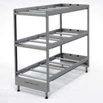 Coffin Rack 3 Tier American Style  (Static)