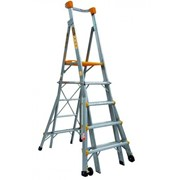 Aluminium Adjustable Platform Ladder 1.5m - 2.4m | Series