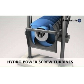 Hydropower Screw Turbines | Landustrie