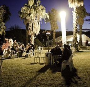 Australian Light Tower is Ideal for events and functions.