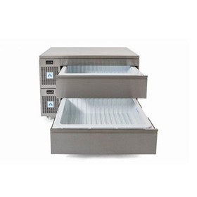 Combination Standard/Slimline Dual Temperature Drawers VNS