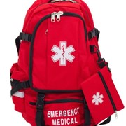 Harcor | First Aid | Medical Backpack - Red