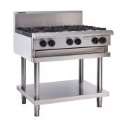 6 Burners & Shelf | LUUS CS-6B