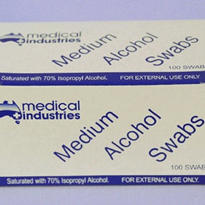 Alcohol Swabs 70% Isopropyl | 100 per box