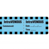 Injectable Medicine Labels IntraVENOUS