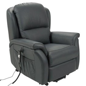 Electric Recliner Lift Chairs – Leather – Twin Motor