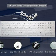 Medical Silicone Keyboard and Mouse