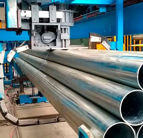 Automatic Steel Strapping Machine - Steel Pipe Bundling